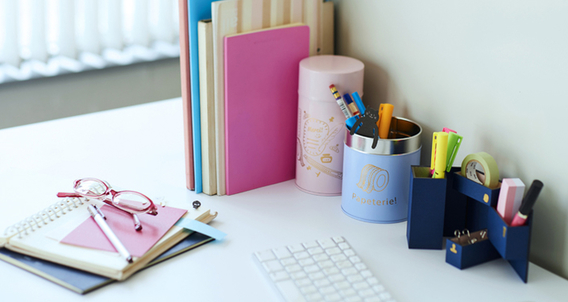It's useful at office! The stationery utilization technique that will boost femininity.