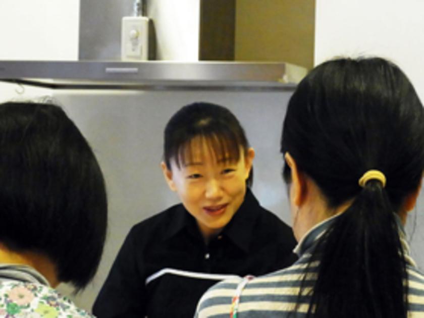 川上先生によるわかりやすい説明と、鮮やかな手さばきに、参加者の皆さんも思わず感心。さすがです。