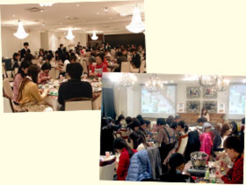 今回は、2つの会場で実施。大阪の「中之島プラザ アゴラシオン」と東京の「アンジェパティオ」です。どちらも結婚式にも使用される、広々とした会場です!