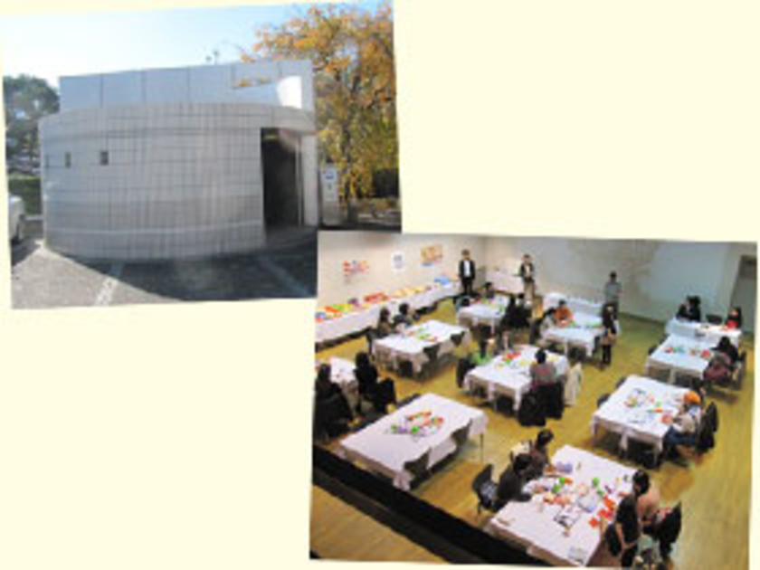会場は代官山の「HILLSIDE PLAZA」(ヒルサイドブラザ)。クラシックコンサート、パーティなどのイベントに利用できる多目的ホールです。