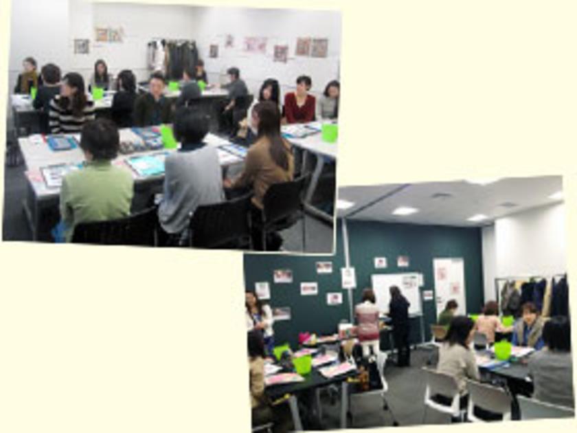 開催地は東京と大阪。たくさんの方にご応募・ご参加いただきました。会場には先生の作品がたくさん飾られています!