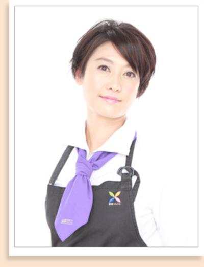 野菜ソムリエの資格を持つ、長谷川恵理子さん。農林水産省の農業女子プロジェクトのメンバーとしても、活躍しています!