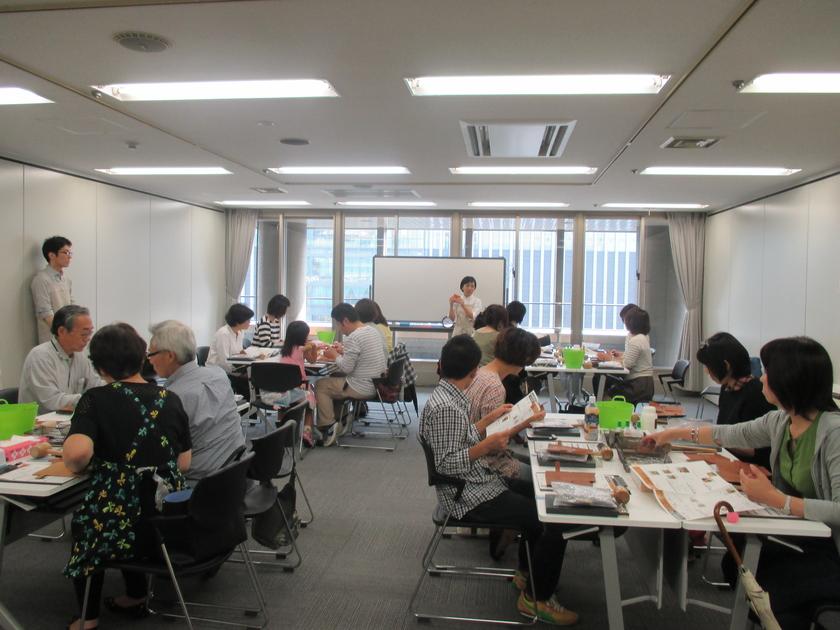 お天気に恵まれたイベント当日。会場は博多駅からすぐの、福岡センタービルです。