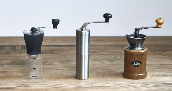 We have actually tried some mills! Choose a coffee mill by its grinding feel and design!