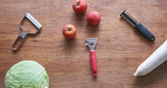 厨房小心机|削皮切丝苦练刀工不如选对工具