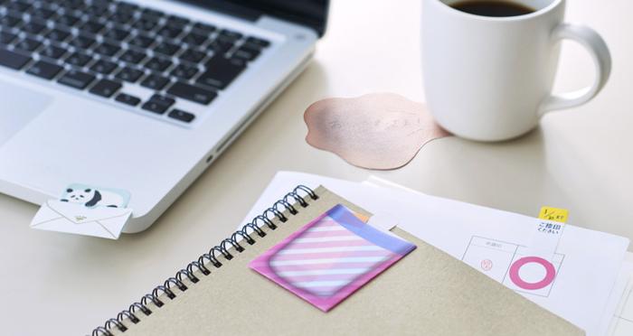 オフィスで活躍!かわいい&便利な付箋やメモ用紙をご紹介