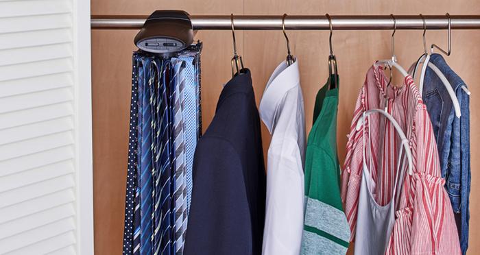 衣類の収納にこだわりたい方必見!優秀アイテムでクローゼットを機能的に!