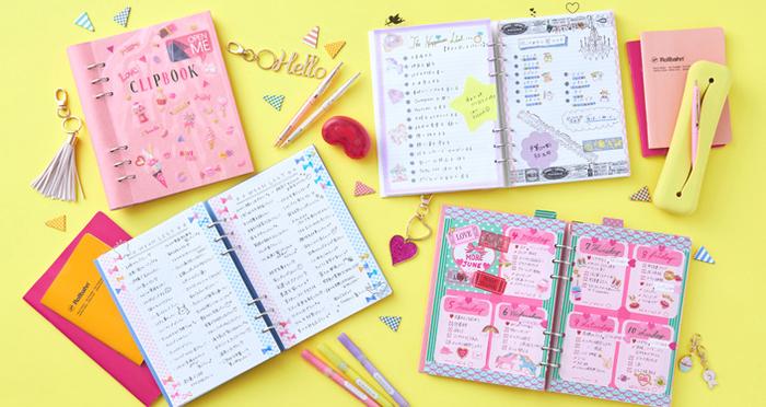 クリップブックの使い方&カスタム術!手帳にプラスしたい便利グッズも盛りだくさん!