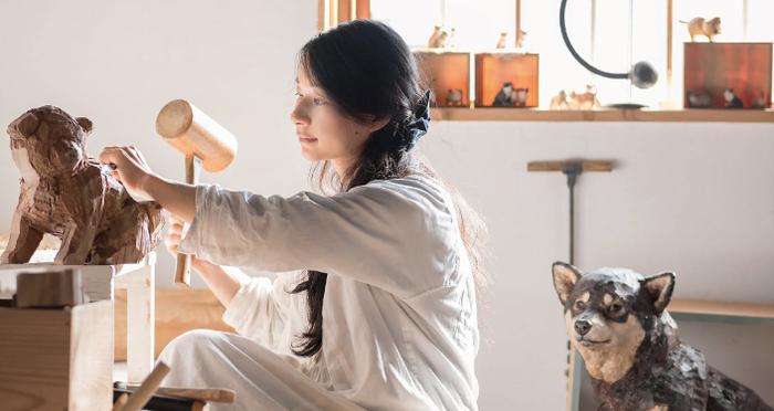 2018びっくり福袋実施レポート「わが家のワンちゃん肖像彫刻」