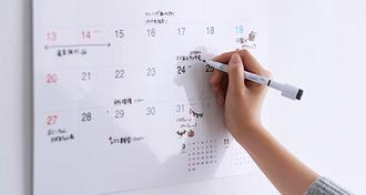 書いて楽しむ、家族で共有する、カレンダーの新しいカタチ。