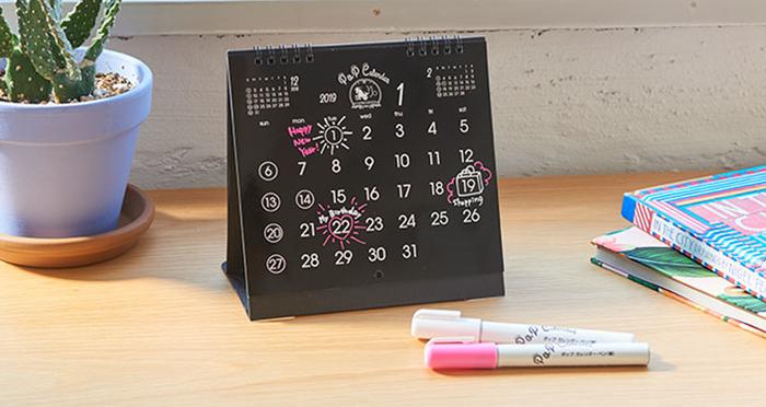 【カレンダー 2019】平成の最後に。ユニークな卓上カレンダー4選