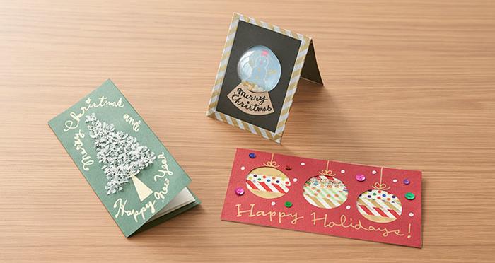 【動画】かわいいクリスマスカードのつくり方!宇田川一美さんに聞いてきた!
