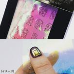 Namie-style gel nail