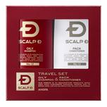 Scalp D travel set oily skin use