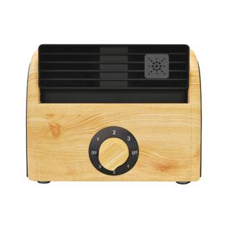 木目調扇風機