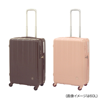 hands+ スーツケース ライトシリーズ ジップタイプ